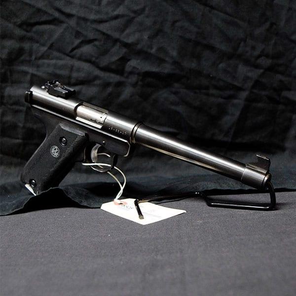Pre-Owned – Ruger Mark I Semi-Auto .22 LR 7″ Handgun Firearms