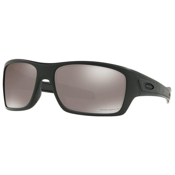 Oakley Turbine Matte Black, Polarized Black Lens Eyewear
