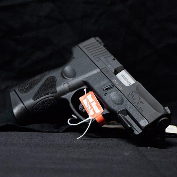 Pre-Owned – Taurus G2C Semi-Auto 9MM 3.26″ Handgun Firearms
