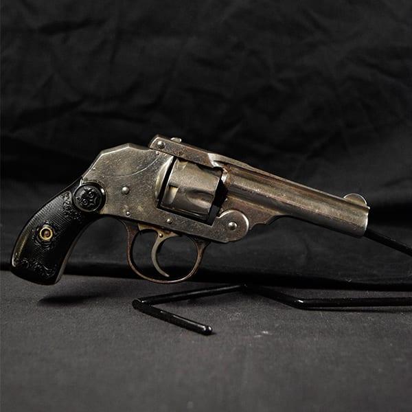 Pre-Owned – Iver Johnson DA .32 S&W 3″ Handgun Firearms