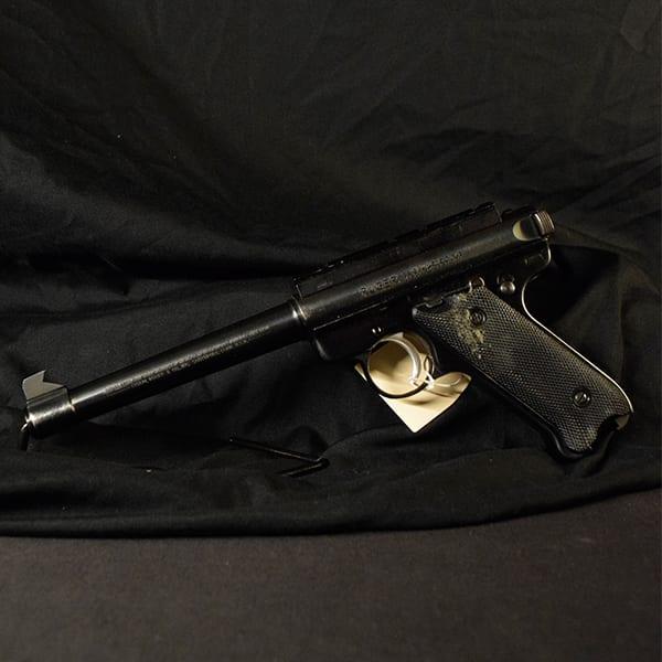 Pre-Owned – Ruger Mark II Semi-Auto .22 LR 7″ Handgun Firearms