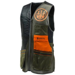 Beretta Two Tone Sporting Vest – Green Clothing