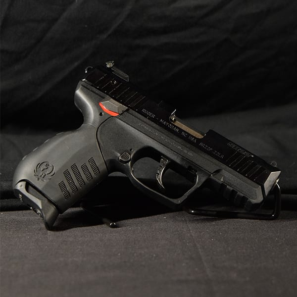 Pre-Owned – Ruger SR22 3600 Semi-Auto .22 LR 3.5″ Handgun Firearms