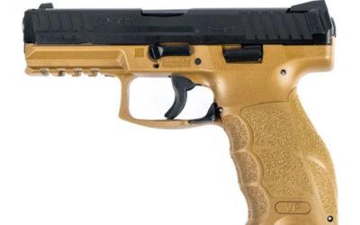 H&K VP9 Semi-Auto 9MM 4.09″ FDE Handgun