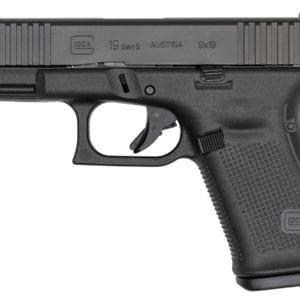 Glock G19 GEN5 9MM 4″ 10RD Handguns