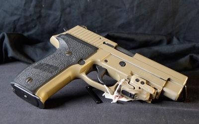 Pre-Owned – Sig Sauer P226 MK25 SA/DA 9mm 4.4″ FDE