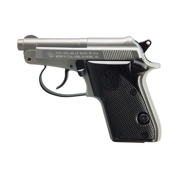 Beretta 21 Bobcat Inox Semi-Auto 22LR 2.4″ Handgun Firearms