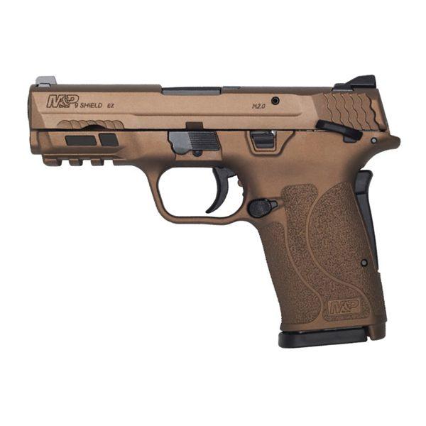 S&W M&P EZ Shield TS Semi-Auto 9mm 3.6″ Handgun Burnt Bronze Firearms